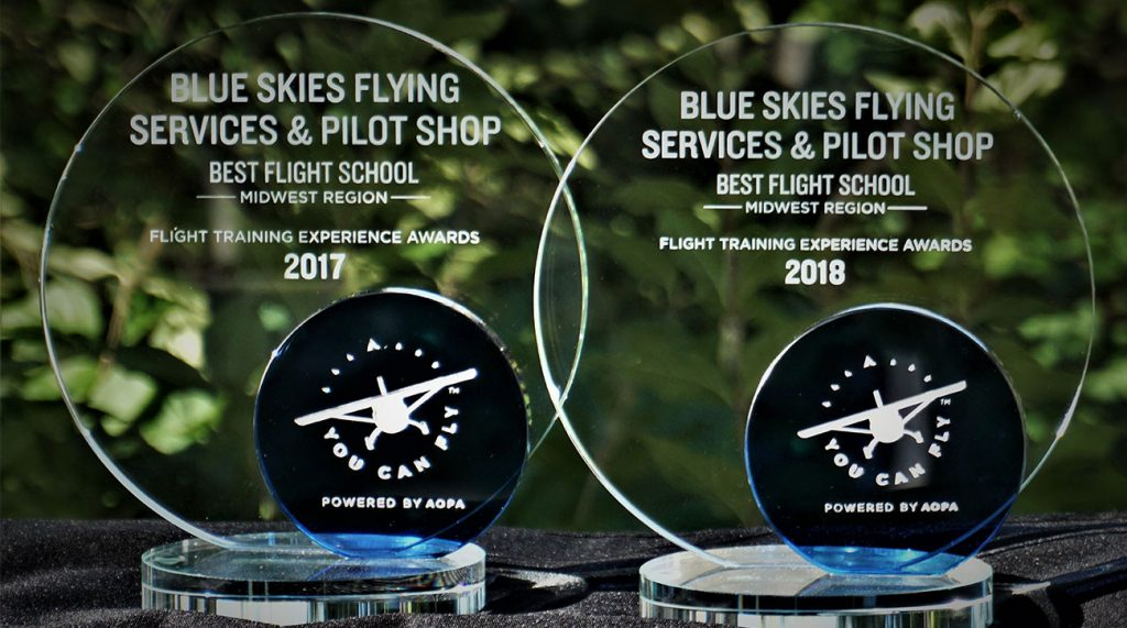 Blue-Skies-Flying-Services-Pilot-Shop-Fly-AOPA-Best-Flight-School-Midwest-Region-2018-1