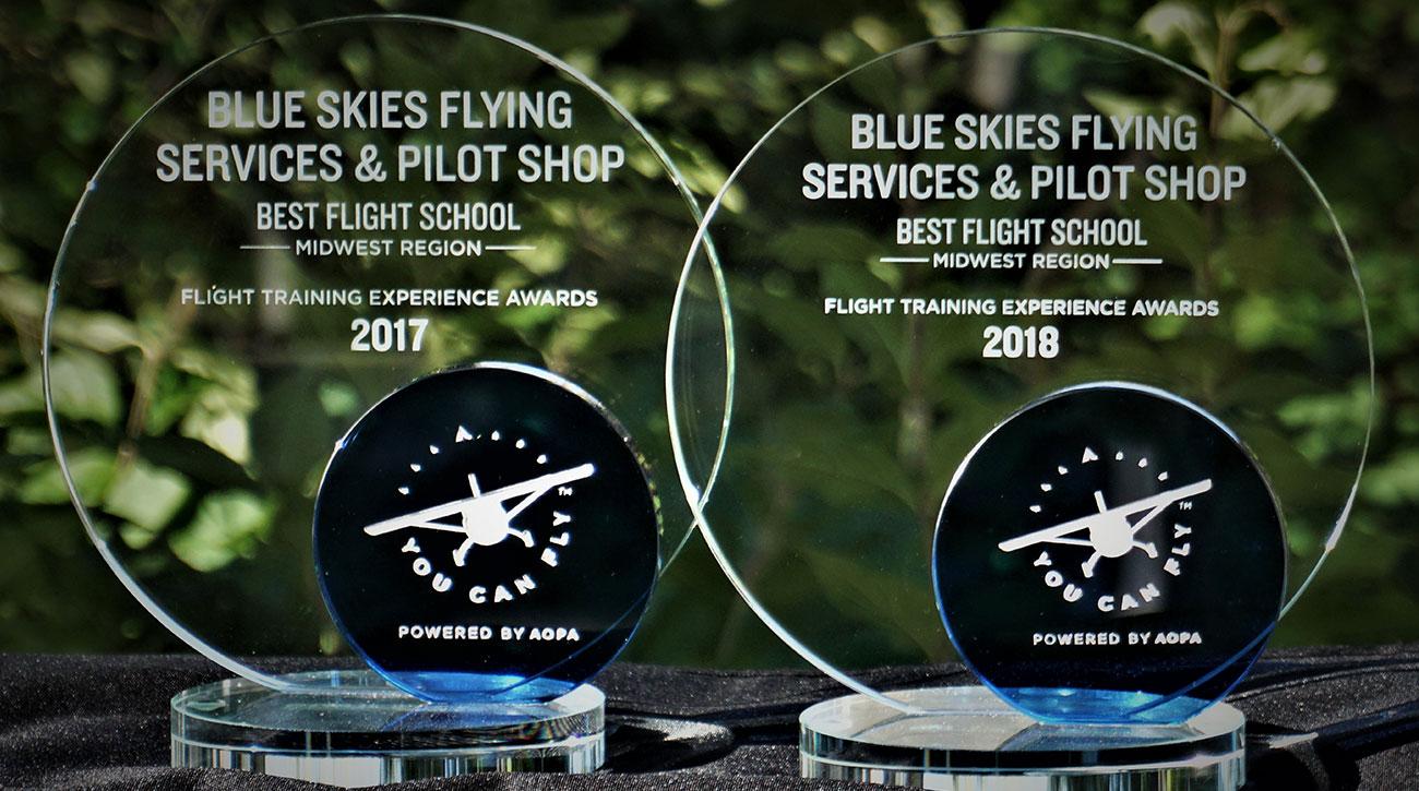 Blue-Skies-Flying-Services-Pilot-Shop-Fly-AOPA-Best-Flight-School-Midwest-Region-2018